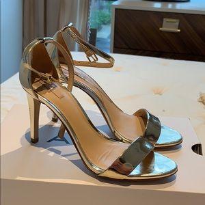 Shoes - Aldo gold strappy sandal